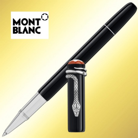 Roller Montblanc Heritage Collection Rouge et Noir Special Edition