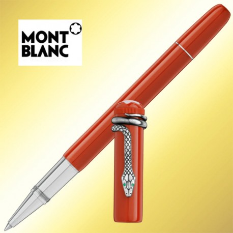 Roller Montblanc Heritage Collection Rouge et Noir Special Edition Coral