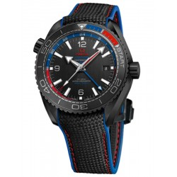 Omega Seamaster Planet Ocean 600M Co-Axial GMT 45.5mm ETNZ 215.92.46.22.01.004