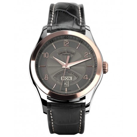 Armand Nicolet M02 Day&Date 8740A-GS-P974GR2