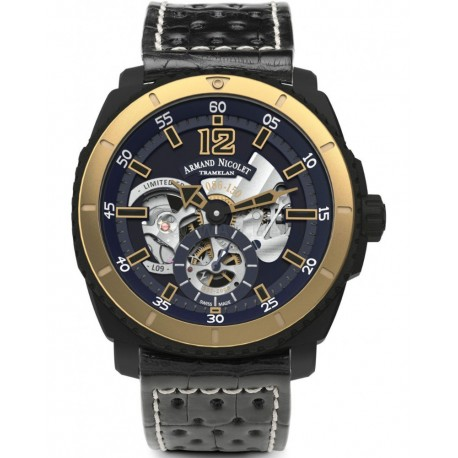 Armand Nicolet L09 Small Seconds Limited Edition S619N-BU-P760NR4