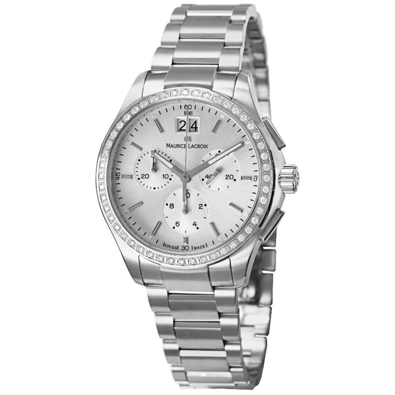 Maurice Lacroix Miros Diamond Chronograph Ladies MI1057-SD502-130