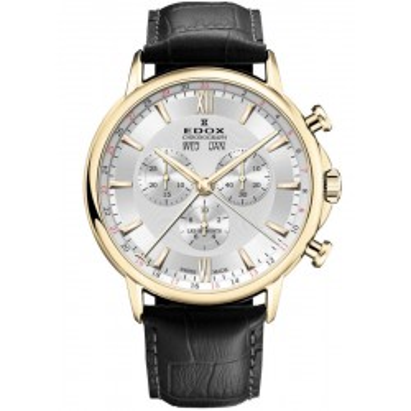 Edox Les Bemonts Chronograph 10501 37J AID