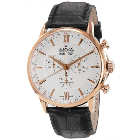 Edox Les Bemonts Chronograph 10501 37J AIR