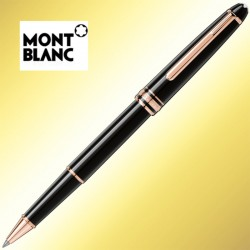 Roller Montblanc 163 Classique Red Gold