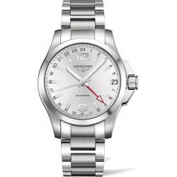 Longines Conquest Automatic GMT 41mm L3.687.4.76.6