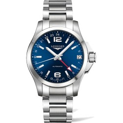 Longines Conquest Automatic GMT 41mm L3.687.4.99.6