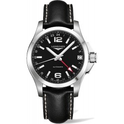 Longines Conquest Automatic GMT 41mm L3.687.4.56.2