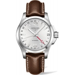 Longines Conquest Automatic GMT 41mm L3.687.4.76.4