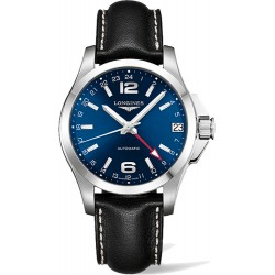 Longines Conquest Automatic GMT 41mm L3.687.4.99.2