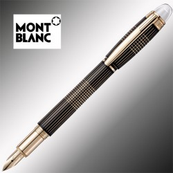 Pióro Montblanc Starwalker Red Gold Plated Metal