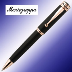 Długopis Montegrappa Ducale Black Rose Gold