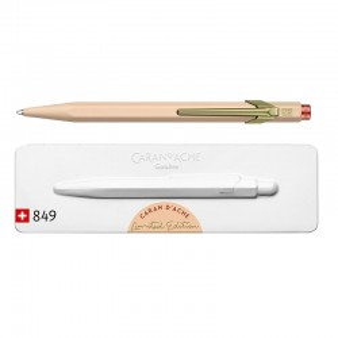 Długopis Caran d`Ache 849 Claim Your Style beżowy BOX