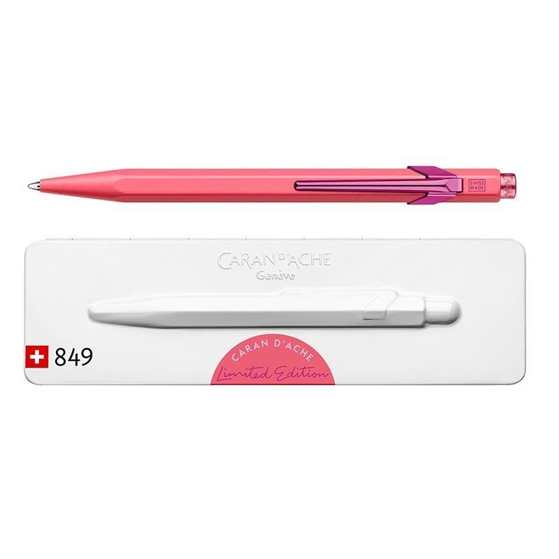 Długopis Caran d`Ache 849 Claim Your Style różowy BOX