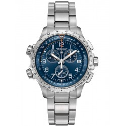Hamilton Khaki Aviation X-Wind GMT Chronograph 46mm
