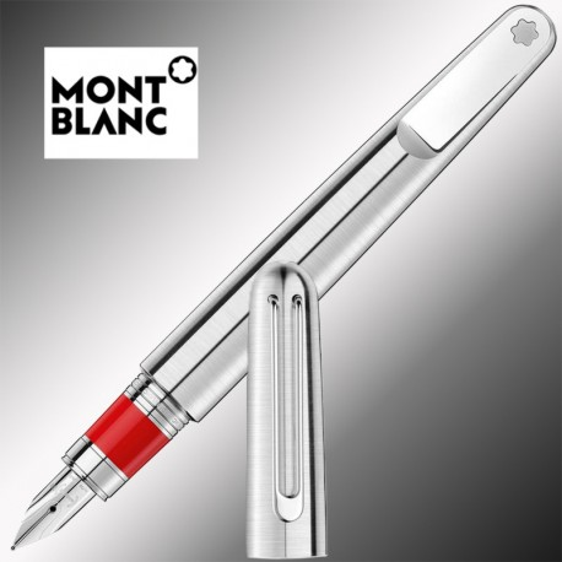 Pióro Montblanc M - Marc Newson Red Signature