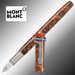 Pióro Montblanc Heritage Collection Rouge et Noir Special Edition Serpent Marble