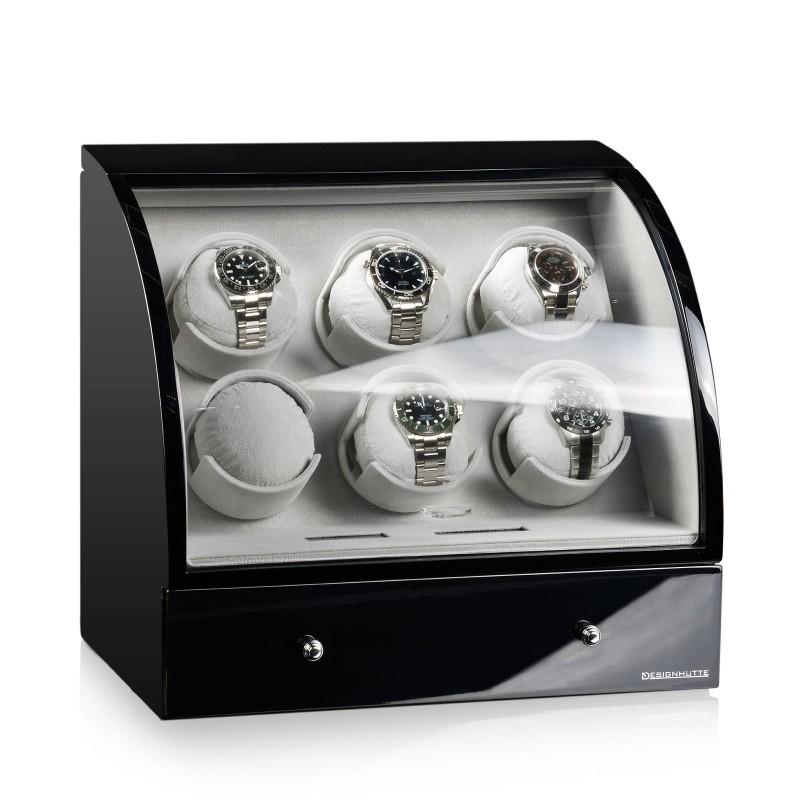 Rotomat Designhutte Basel 6 LCD BK
