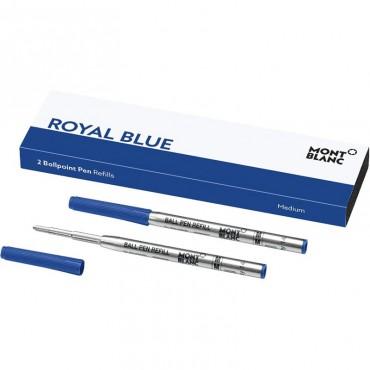 Wkłady do długopisu Montblanc - niebieskie 2szt. - M
