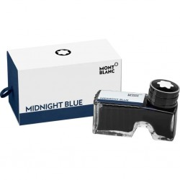 Atrament Montblanc 60 ml Midnight Blue - niebieski