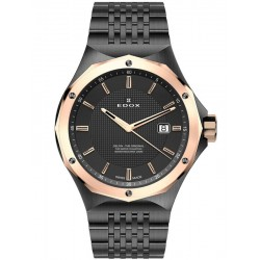 Edox Delfin Black 53005 37GRM GIR