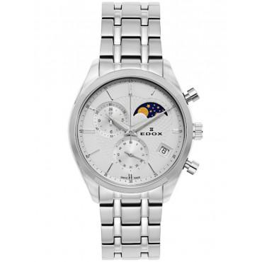 Edox Les Vauberts Chronograph Mondphase Datum 01655 3M AIN