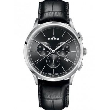 Edox Les Vauberts Chronograph 10236 3C NIN