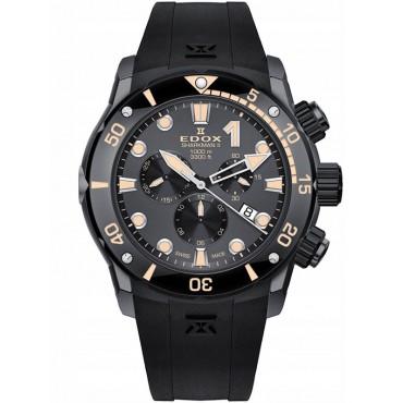 Edox CO-1 SHARKMAN II Chronograph Limited Edition 10234 357GN NIN