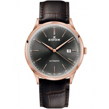 Edox Les Vauberts Automatic Date 80106 37RC GIR