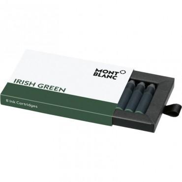 Wkłady atramentowe Montblanc Irish Green - zielone 8 szt.