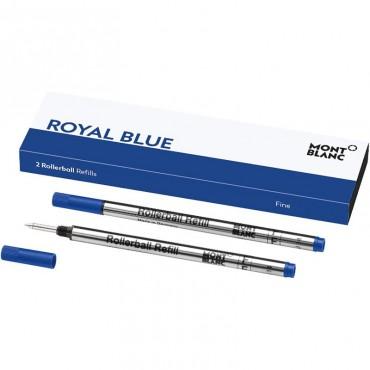 Wkłady do rollera Montblanc - niebieskie 2szt. - f