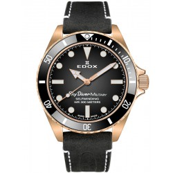 Edox SkyDiver Military Bronze Limited Edition Automatic 80115 BRZN NDR